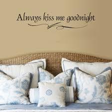 Winston Porter Always Kiss Me Goodnight Wall Decal Reviews Wayfair