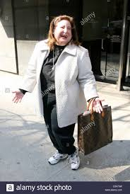Wendy Kaufman aka the Snapple lady out and about in Manhattan New Stock  Photo - Alamy