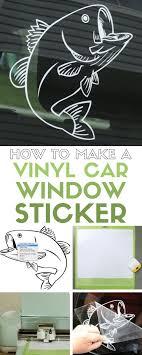 How To Make A Vinyl Car Decals The Crafty Blog Stalker Cricut Explore Vinyl Cricut Diy Cricut