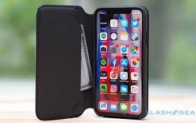 apple s iphone x leather folio case is