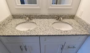 luna pearl granite granite bathroom