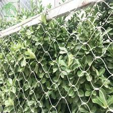 China Stainless Steel X Tend Cable Mesh Climbing Plant Net For Green Wall China X Tend Cable Mesh X Tend Mesh