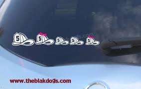 Firefighter Helmet Family Stickers Personalized Sticker Etsy In 2020 Family Car Decals Family Stickers Firefighter