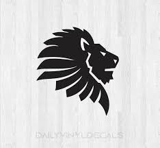 Lion Head Decal Lion Head Sticker Lion Decal Lion Sticker Animal Decal Car Truck Laptop Decal Etc Leo Decal Leo Sticker Zodiac Sign Decal