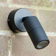 microspot outdoor wall spotlight