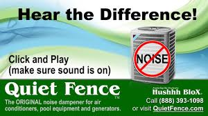 Home Quiet Fence For Loud Air Conditioners