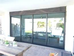 12 foot sliding glass door foot sliding