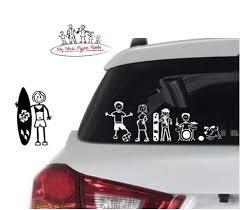My Stick Figure Family Car Window Vinyl Buy Online In El Salvador At Desertcart