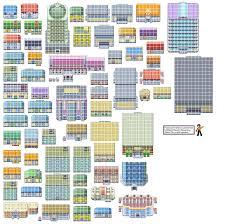 Game Boy Advance - Pokémon FireRed / LeafGreen - Tileset 1 - The ...