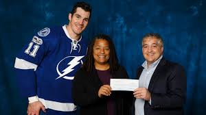 Nadine Smith honored as Lightning Community Hero