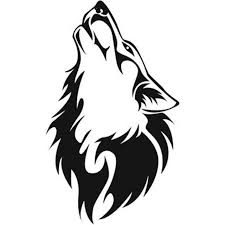 Die Cut Vinyl Decal Sticker C Wolf Silhouette Itrainkids Com