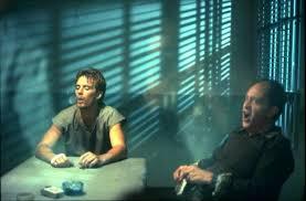 Michael Biehn as Kyle Reese with Earl Boen as Dr. Peter Silberman in The  #Terminator (1984). | Terminator movies, New terminator movie, Kyle reese