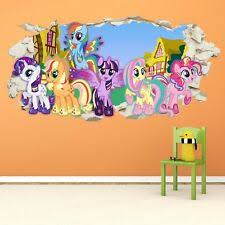 My Little Pony Wall Decals Stickers For Children For Sale Ebay