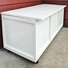 diy outdoor storage box with free plans