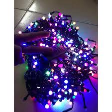 Dây đèn Led nháy nhiều màu dài 50m 240 bóng LED kín nước