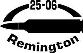 25 06 Rem Gun Rifle Ammunition Bullet Exterior Oval Decal Sticker Car Or Wall