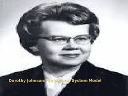 Dorothy johnson: behavioral system model PowerPoint Presentation ...
