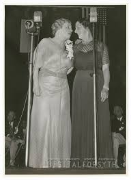 Digital Forsyth   Helen Keller and Polly Thompson, 1939.