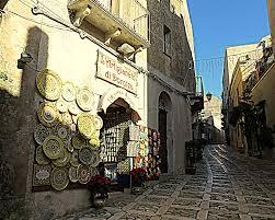The italian village of Erice, Trapani in Sicily, Italy - e-borghi