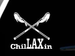 Chillaxin Lacrosse Car Decal From Thekalicokitty On Etsy Lacrosse Mom Lacrosse Lacrosse Girls
