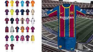 Leaked: Barcelona's 2020-21 season home kit