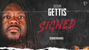 Falcons sign Adam Gettis to one-year contract