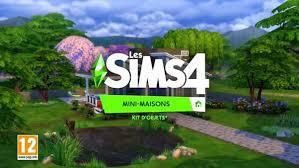 les sims 4 mini maisons télécharger jeu