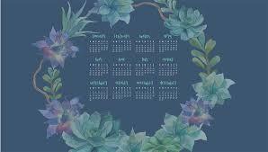 calendar wallpaper for my desktop