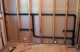 bathroom sink remodel venting drain