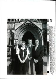 Amazon.com: Vintage photo of Duncan Lustig-Prean, Jeanette Smith, John  Beckett, and Graeme Grady outside the High Court in London.: Entertainment  Collectibles