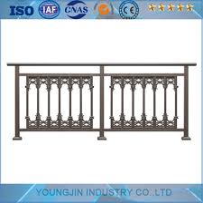 China Aluminum Pipe Modern Balcony Stair Railing Design For Apartment China Steel Fence Aluminum Fence