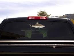 Bull Shark Decal Boat Truck Window Fish Sticker Fishindecals Fishindecals Com