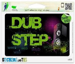Amazon Com Dubstep Cool Vinyl Car Bumper Window Sticker 3 X 2 Automotive