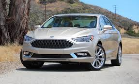 2017 ford fusion platinum first drive