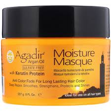 agadir argan oil moisture masque with