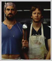Chris Meloni & A.D. Miles in Wet Hot American Summer - Chris ...