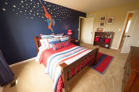 Spiderman Inspired Kids Room By Tuskes Homes Cool Kids Bedrooms White Carpet Bedroom Hardwood Bedroom Floors