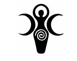 Fairy Moon Goddess Vinyl Decal Vinyl Sticker Pixie Fairy Etsy Triple Goddess Goddess Tattoo Goddess Symbols