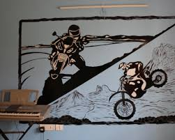 Wall Stencils Design Ideas Funny And Catchy Stencil Design For Walls Make Up By Bangalore House Painting Services Aapkapainter Medium