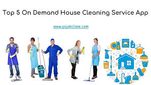 Top 5 On-Demand House Cleaning Service App