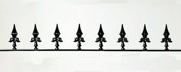 Decorative Steel Wrought Iron Wall Or Fence Topper Ebay