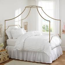 maison teen canopy bed pottery barn teen