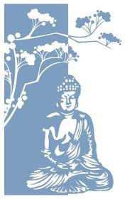 Buddha Window Glass Decal Asian Wall Decals By Style And Apply
