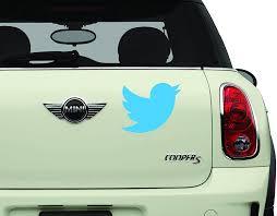 Amazon Com Twitter Bird Sci Fi Comics Games Automotive Decal Bumper Sticker Automotive