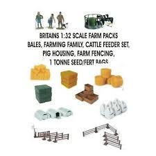 britains farmyard toys inc bales