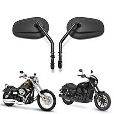 motorcycle mirrors 8mm rearview side