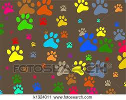 paw wallpaper clip art k1324011