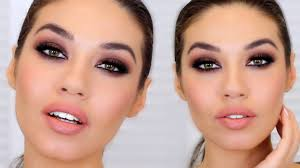 brown smokey eye easy smokey eye for