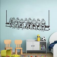 New Arrival Storm Trooper Star Wars Wall Decal Kids Room Star Wars Wall Decal Sticker Home Decoration Waterproof Wall Stickers Wall Stickers Aliexpress