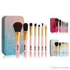 portable makeup brushes set